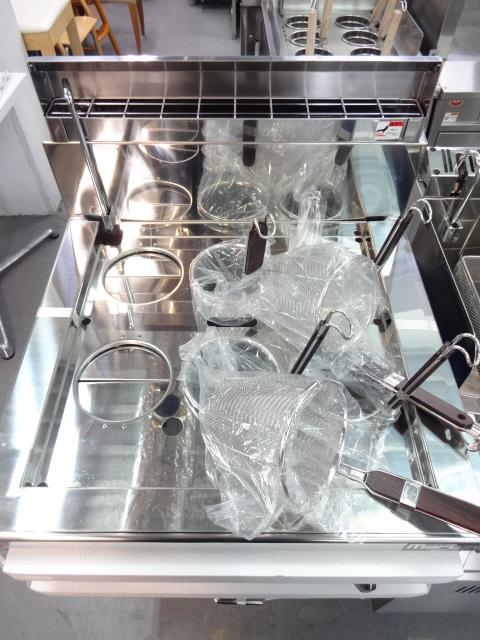 マルゼンガスゆで麺器MRF-066RC詳細画像2