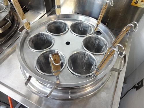 タニコーガスゆで麺器TU-1N詳細画像2