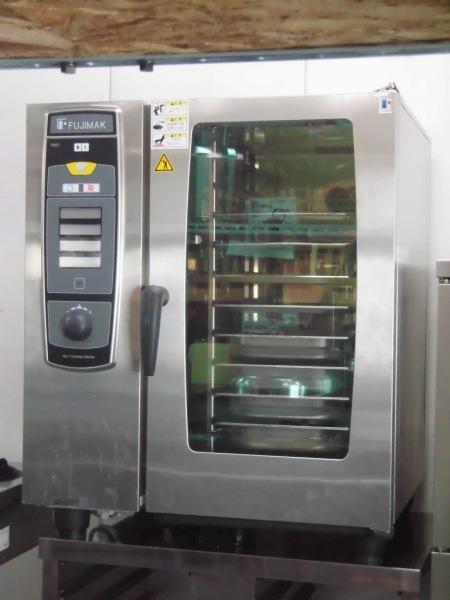 フジマック ガススチームコンベクションオーブン FSCC101G