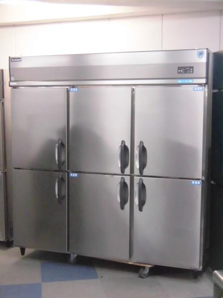 大和冷機 業務用縦型6ドア冷凍冷蔵庫 653S4