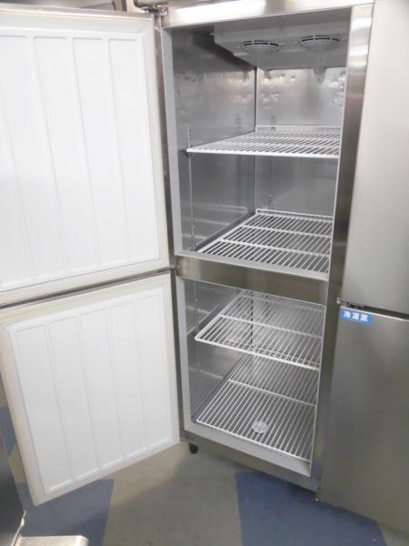 大和冷機業務用縦型6ドア冷凍冷蔵庫653S4詳細画像2