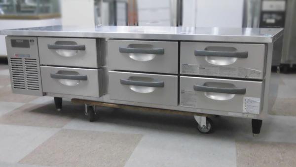 ホシザキ 冷蔵低ドロワーコールドテーブル買取しました!