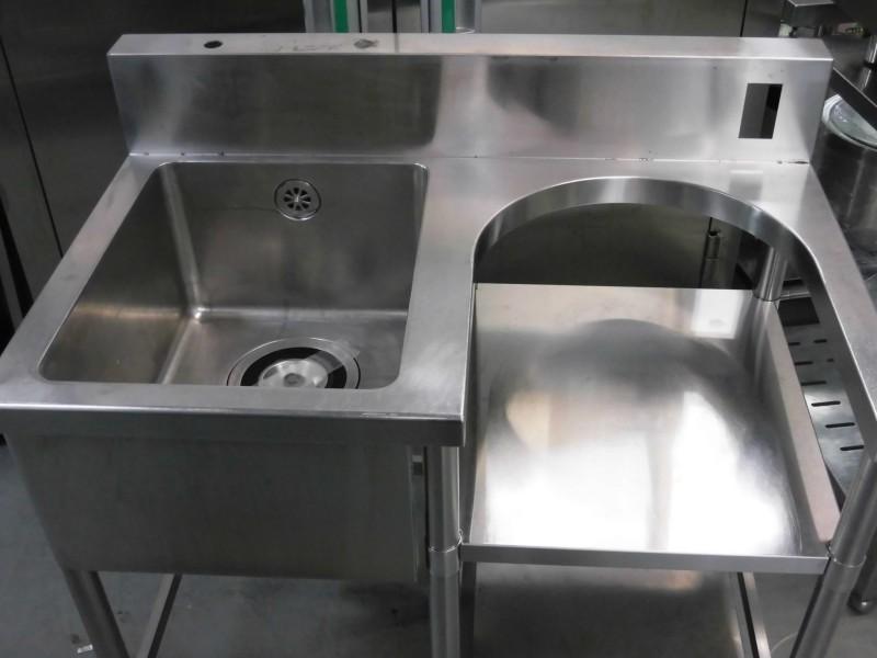 1槽シンク・右炊飯台09C28063詳細画像2