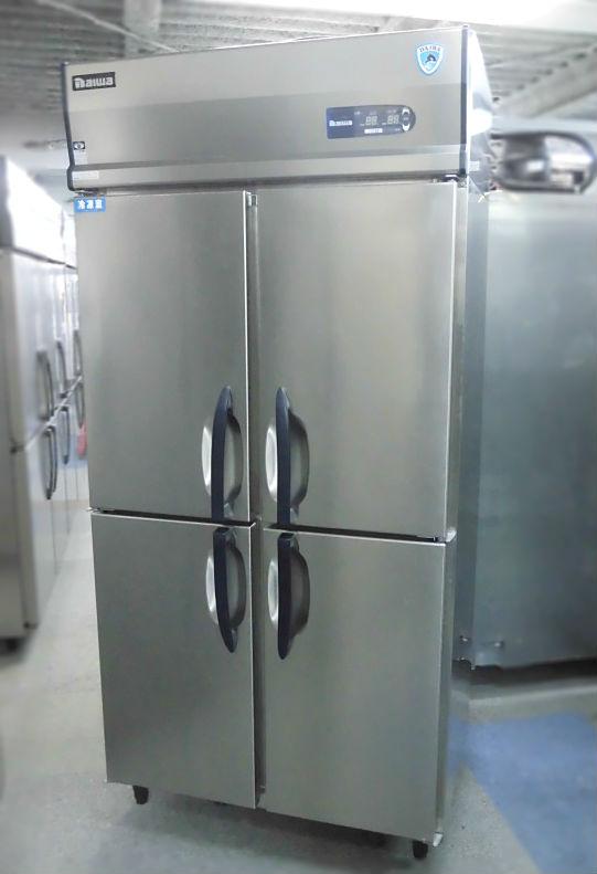 大和冷機 業務用縦型4ドア冷凍冷蔵庫買取しました!