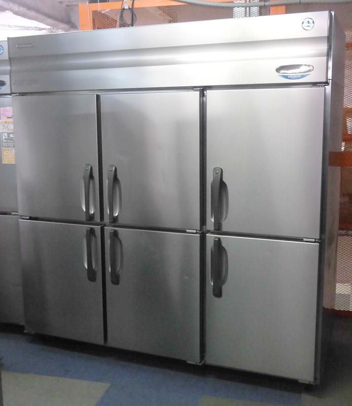 ホシザキ 業務用縦型6ドア冷凍庫 �A HF-180X3