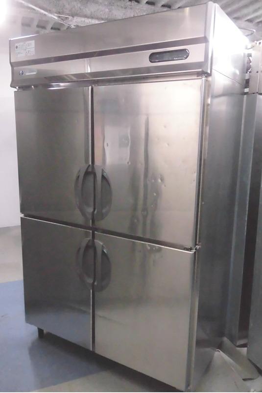 福島工業(フクシマ) 業務用縦型4ドア冷凍冷蔵庫買取しました!