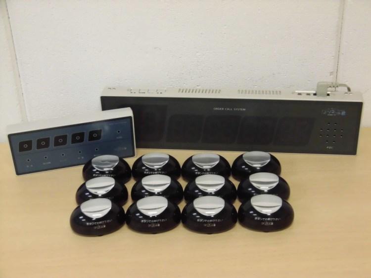 パシフィック湘南 ワイヤレスオーダーコールシステム買取しました!