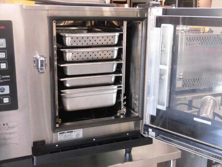 ホシザキ電気スチームコンベクションオーブンMIC-6SA3-1詳細画像2