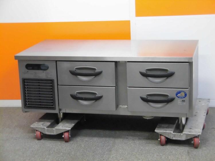 サンヨー 低ドロワー冷蔵コールドテーブル SUR-DG1261-2A