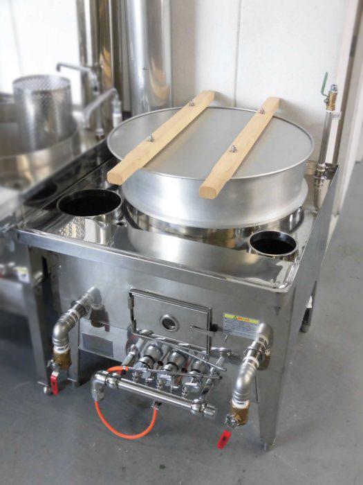 小林熱機工業 ゆで麺機・ガスかまど GD-1