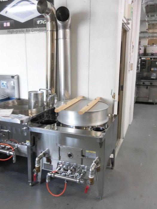 小林熱機工業ゆで麺機・ガスかまどGD-1詳細画像2