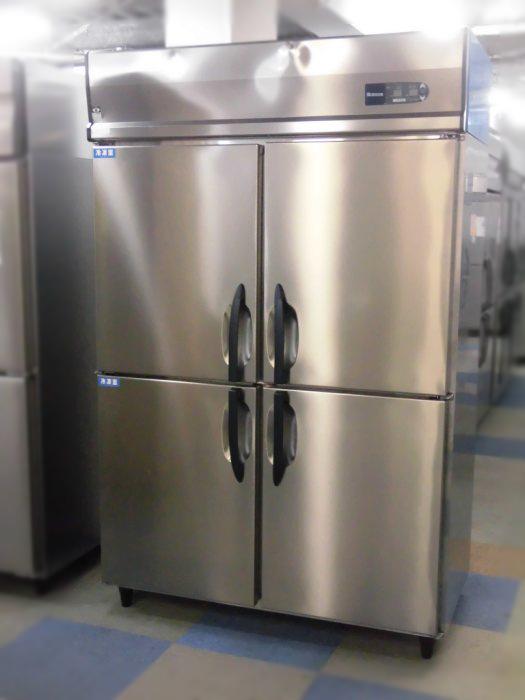大和冷機 業務用縦型4ドア冷凍冷蔵庫 421YS2-EC