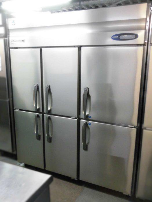ホシザキ 業務用縦型6ドア冷凍冷蔵庫 HRF-150ZFT3-6D