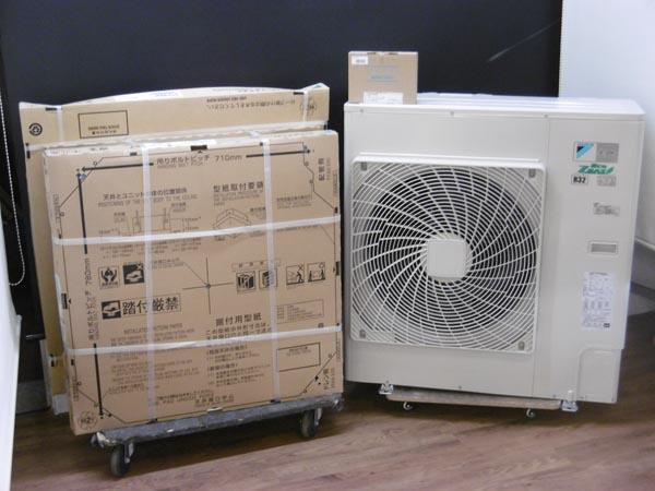 ダイキン 未使用品 業務用エアコン・3馬力・3相200V SZRC80BAT