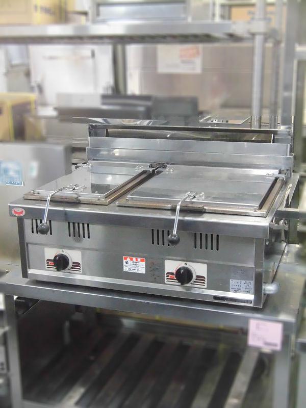 マルゼン ガス餃子焼器 MGZ-076W