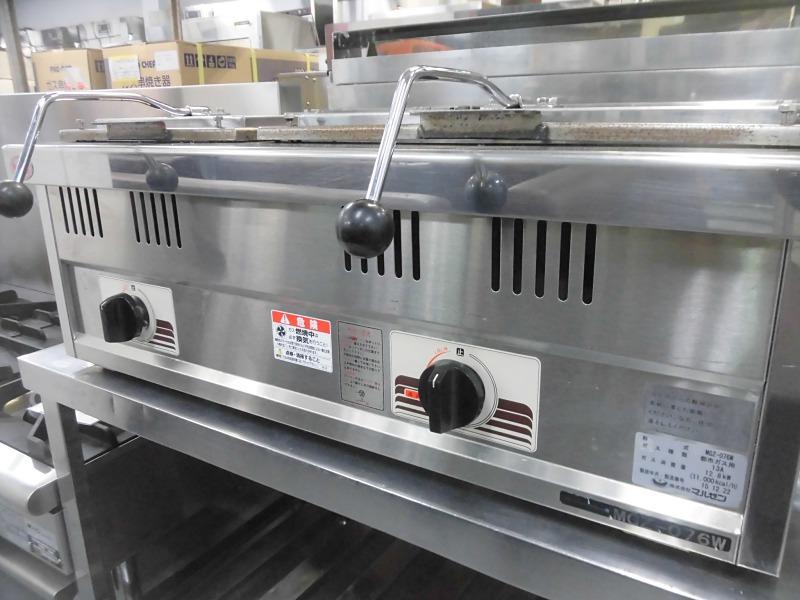 マルゼンガス餃子焼器MGZ-076W詳細画像4