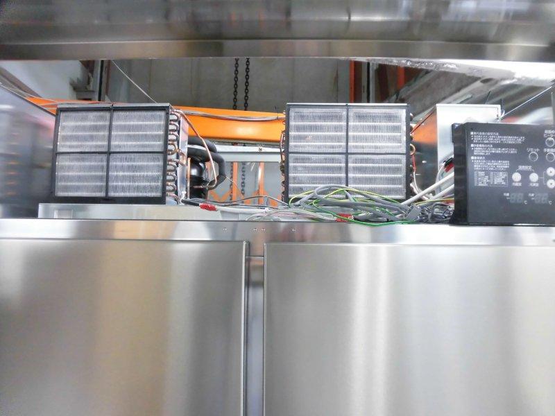 ホシザキ縦型4ドア冷凍冷蔵庫HRF-120Z詳細画像3