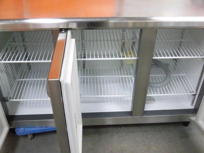 フクシマ冷凍冷蔵コールドテーブルYRC-151PE-E詳細画像2