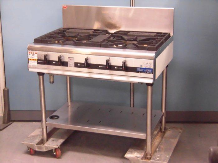 マルゼン 3口ガステーブル MGTX-096C