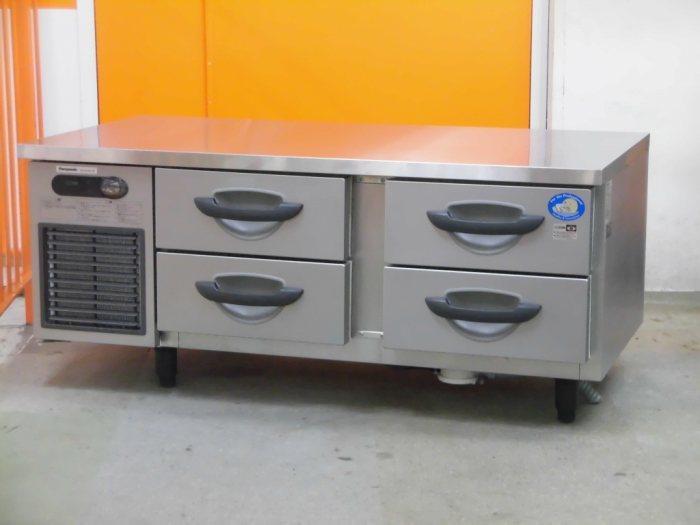 パナソニック 冷凍低ドロワーコールドテーブル SUF-DG1261-2B