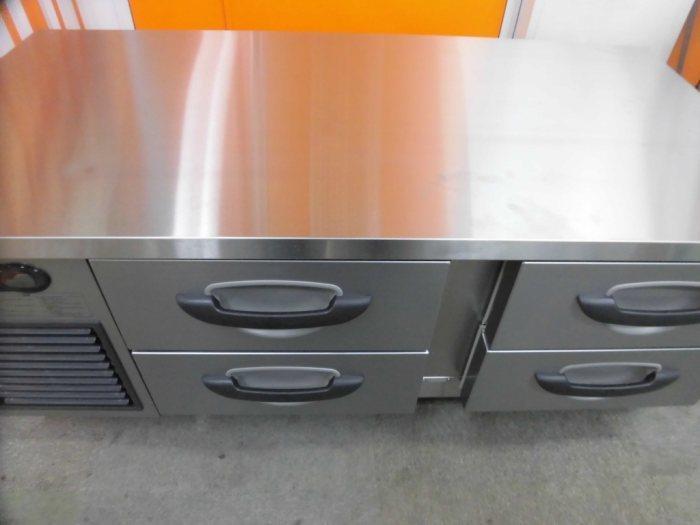 パナソニック冷凍低ドロワーコールドテーブルSUF-DG1261-2B詳細画像2