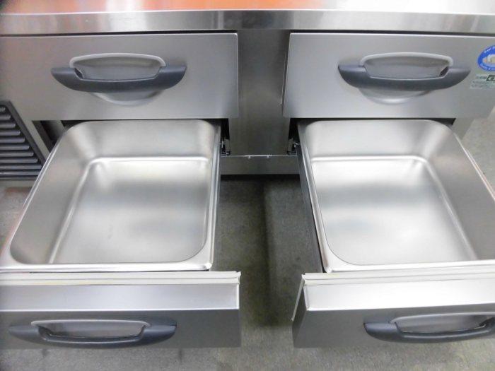 パナソニック冷凍低ドロワーコールドテーブルSUF-DG1261-2B詳細画像3