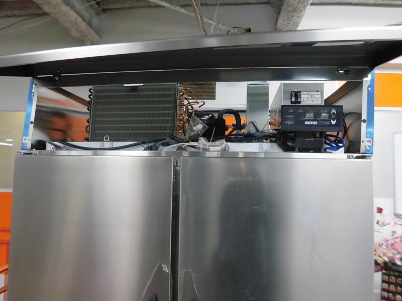 大和冷機業務用縦型4ドア冷凍冷蔵庫411YS1-EC詳細画像4