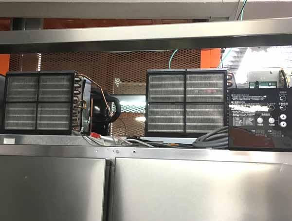 ホシザキ業務用縦型4ドア冷凍冷蔵庫HRF-120Z3詳細画像4