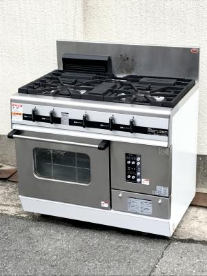 マルゼン 3口ガスレンジ MGRX-096D