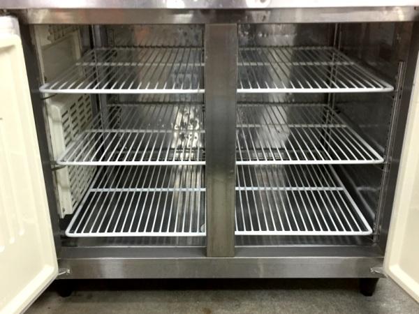 フクシマ冷蔵コールドテーブルYRW-120RM詳細画像2