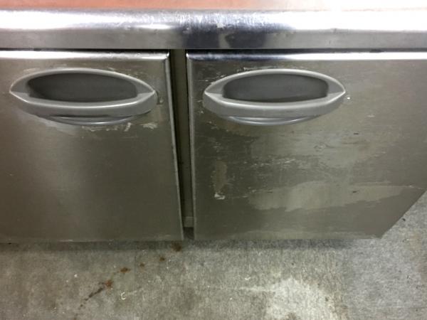 フクシマ冷蔵コールドテーブルYRW-120RM詳細画像4
