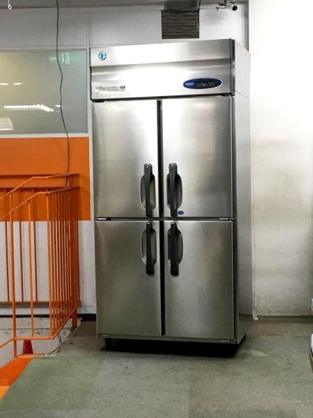 ホシザキ 業務用縦型4ドア冷凍冷蔵庫 HRF-90ZT3