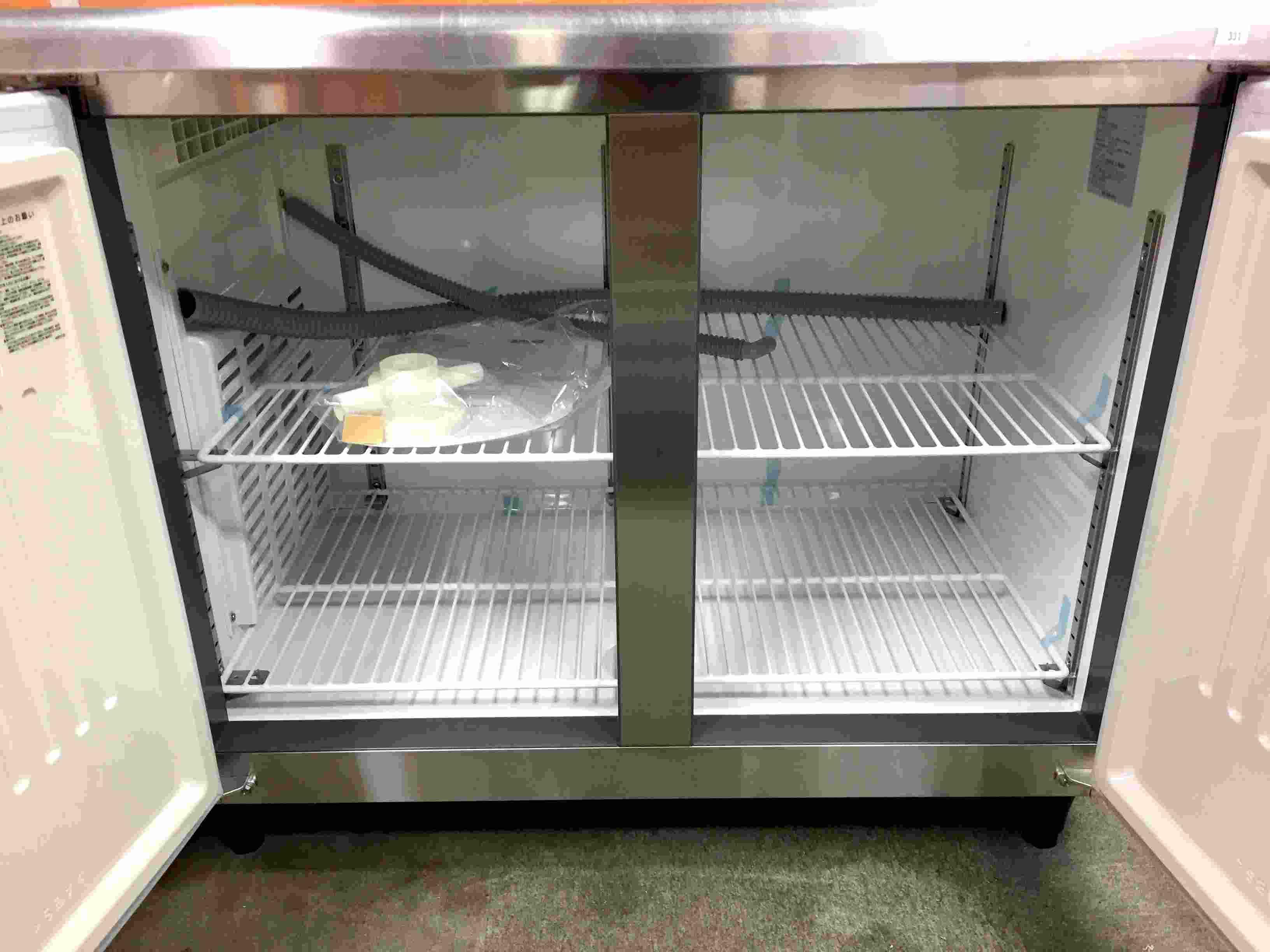 フクシマ冷蔵コールドテーブルYRC-120RE2詳細画像2