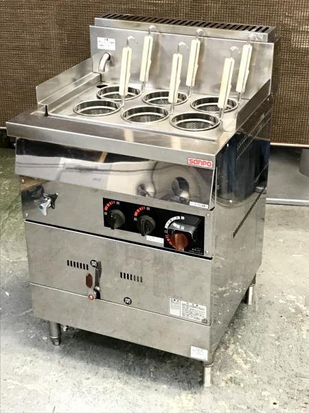 三宝ステンレス工業 ガス茹で麺器買取しました!