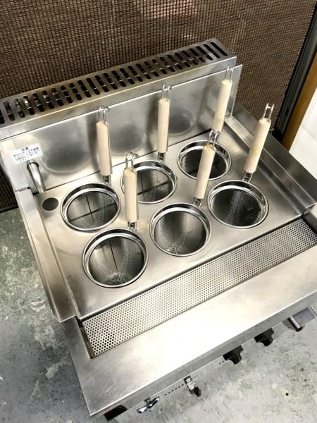 三宝ステンレス工業ガス茹で麺器SMB-66詳細画像2