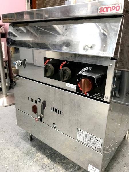 三宝ステンレス工業ガス茹で麺器SMB-66詳細画像3