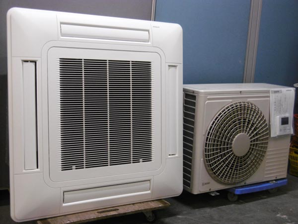 日立 業務用エアコン・3馬力・3相200V買取しました!