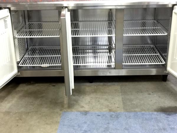 フクシマ冷蔵コールドテーブルYRW-180RM2詳細画像2