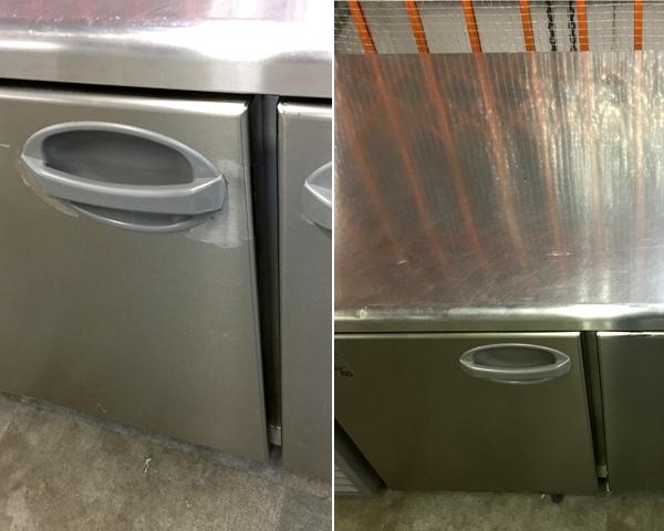 フクシマ冷蔵コールドテーブルYRW-180RM2詳細画像4