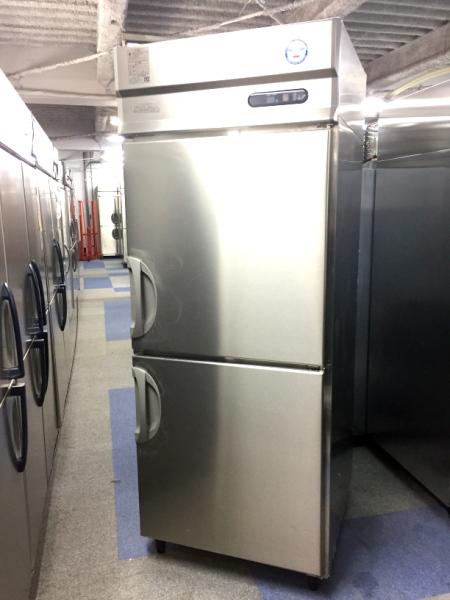 フクシマ 業務用縦型2ドア冷蔵庫 URD-080RM6