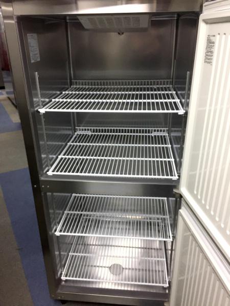 フクシマ業務用縦型2ドア冷蔵庫URD-080RM6詳細画像2