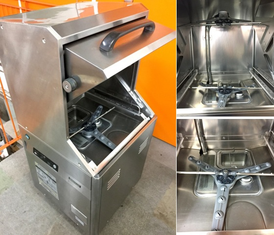 ホシザキ食器洗浄機・右ドアタイプJWE-450RUA-R詳細画像3