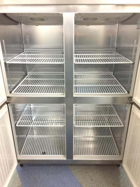 ホシザキ業務用縦型4ドア冷凍冷蔵庫HRF-120ZF3詳細画像2