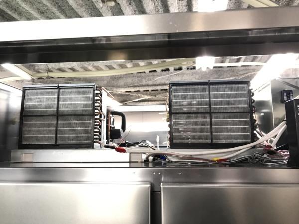 ホシザキ業務用縦型4ドア冷凍冷蔵庫HRF-120ZF詳細画像4