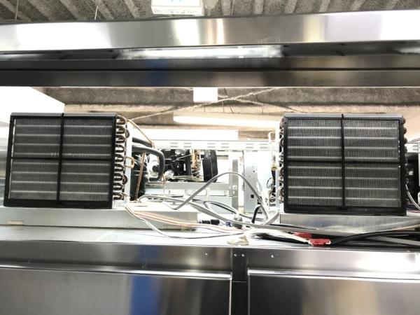 ホシザキ業務用縦型4ドア冷凍冷蔵庫HRF-150LZ詳細画像3