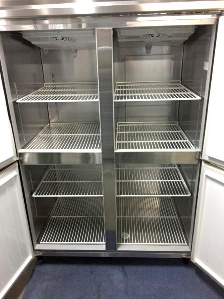 大和冷機業務用縦型4ドア冷凍冷蔵庫411S1-EC詳細画像2