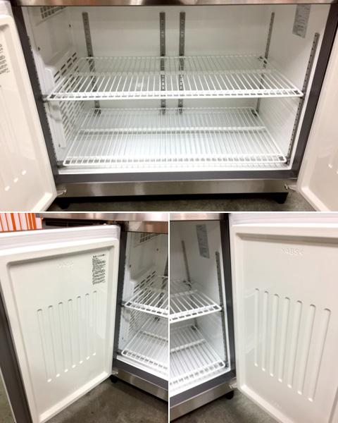 フクシマ冷凍コールドテーブルYRC-122FE2-F詳細画像4