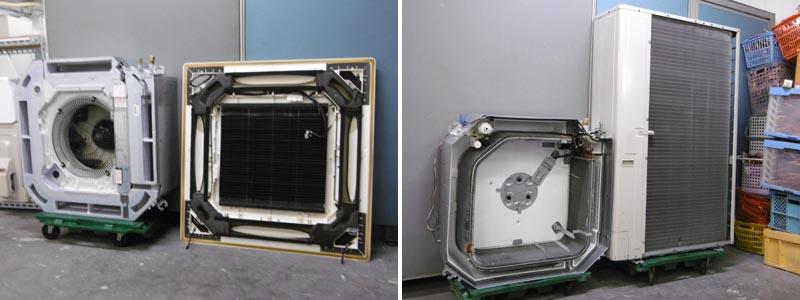 ダイキン♯2業務用エアコン・4馬力・3相200V SZZC112CB詳細画像4