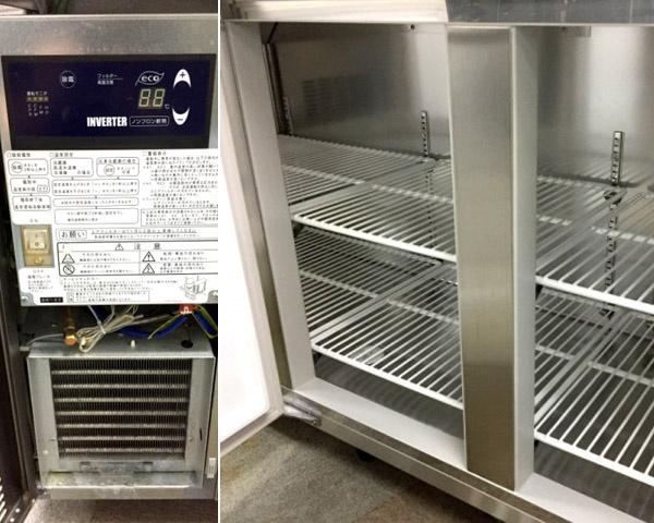 大和冷機冷凍コールドテーブル6061SS-EC詳細画像3