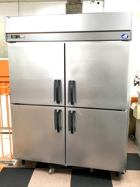 サンヨー 業務用縦型4ドア冷蔵庫 SRR-J1583VS